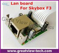 Skybox F3 original Lan board internet port Lan Module network card RJ45 Board for Skybox F3 hd receiver 1080P