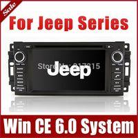 Car DVD Player for Jeep Compass Grand Cherokee Wrangler Commander with GPS Navigation Radio BT TV USB SD AUX 3G Audio Stereo Nav