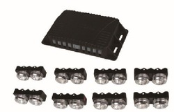 Emergency Vehicle Strobe Lights/Light bars for Deck Dash Grille 16w, 16PCS(China (Mainland))