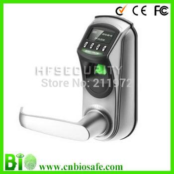 Rotatable Handle OLED Display Biometric Fingerprint Door Lock HF-LA601 with 500dpi ,2years Warranty !