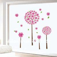 Bigest wallpaper removable wall stickers glass paper  Pandora's tree 90*60CM