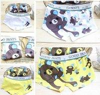 Free Shipping,12pcs/lot,KD-003-026,Wholesale kids:Cartoon pure cotton children underwear/boy boxers/boys assiebum/kid brief
