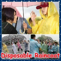 [FORREST SHOP] Outdoor raincoats waterproof rain coat wear travel disposable rain poncho 35 pieces/lot good quality FRH-3