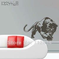 Holiday Sale Free Shipping WALL'S MATTER Home Decor Panther Wall Stickers Wall Decals (60.0 x 85.0cm/piece)