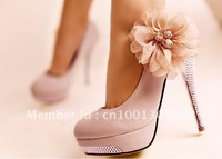 European and American women shoes diamond waterproof Taiwan bridal shoes free shipping