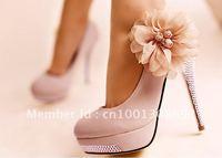 European and American women shoes diamond waterproof Taiwan bridal shoes free shipping