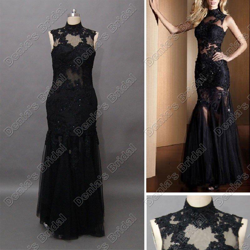 Black Lace Prom Dress Dillards - Long Dresses Online