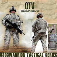 ACU OTV MOLLE Compatible Modular Military Camouflage interceptor Army Tactical Vest sets Combat Body Armor Vest Adjustable Size