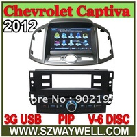 2 DIN Car RADIO DVD GPS Navigation for Chevrolet new Captiva 2012 C140 with 3G USB host + Navitel map + free SD card