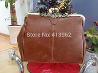 Hot Casual BEST -SELLING New Fashion  New Retro Vintage Ladies Lock Shoulder Purse Handbag Tote Bag Hotsale New Wholesale