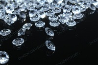 10000pcs 6mm clear color Wedding Table Scatter Diamond Crystals wedding