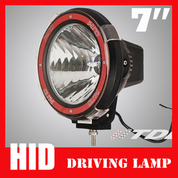 7 inch 55W 35W Offroad HID Xenon Drive Light Off Road Working lamp Flood Spot Beam For 4x4 sport vehicle(China (Mainland))