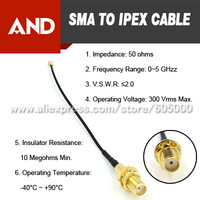 SMA to U.FL Pigtail Cable,Assembly jumper