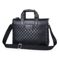 Leather Briefcase Bags Men messenger bags men's travel bag genuine pu leather man  Tote briefcase shoulder bag business 2015