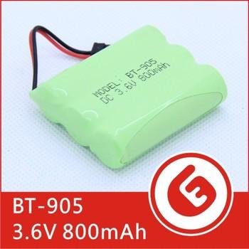 NI-MH 3.6V 800mAh AA Rechargeable Cordless Phone Battery for Uniden BT-905 BT905 Cordless Telephone Battery Replacement Pack