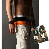 New Fashion cotton Men's short Casual Banding Sport Trousers Black,white gray 10