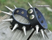 New Arrivalv2013 Punk bracelet,Leather wrisband, metal rivets,wholesale (10pcs/Lot)
