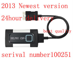 2013 new come out ,TCS DELPHI CDP+pro compact diagnostic partner can test for car and truck ,free shipping free update 2012.3(China (Mainland))
