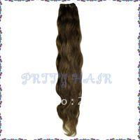 """Wholesale 3pcs/Lot, Virgin Brazilian Hair Extensions, Body wave 18""""  Color#4,7145"""