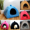 NEW&PROMOTION! 9 colors good quality Pet dog cat tent/nest/kennel/yurt/house, free shipping+gifts!