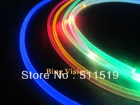 2mm solid core side glow fiber 50m pack super bright super soft