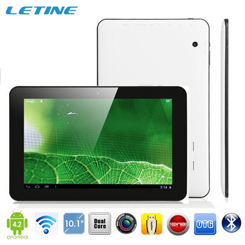 2pcs/lot Dual Core Allwinner A20 Cortex A8 bluetooth 6000mah 1GB/16GB dual camera hdmi android 4.2 10 inch tablet pc