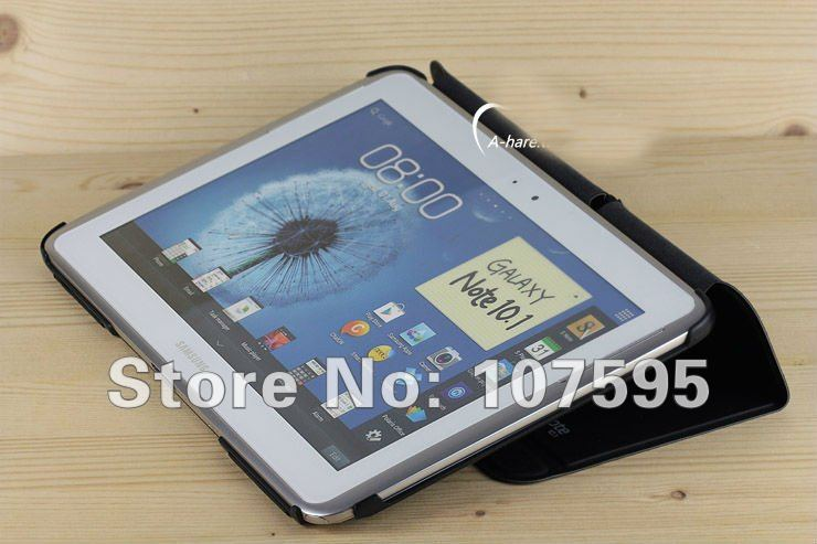 Smart Case For Samsung Galaxy Note 10.1 N8000 Tablet Tab with retail packing,5pcs/lot,High quality,Free Shipping(China (Mainland))