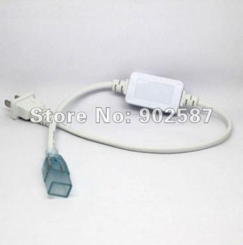 AC220V 110V LED Strip Rectifier Power Cord with Plug for 50m SMD5050 Single color LED Strip