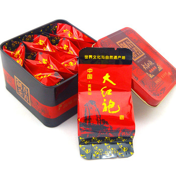 Da Hong Pao Tea,Big Red Robe,Dahongpao , high quality health care China<tea Grade AAAAA  8 packs /box Chinese Oolong