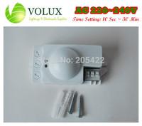 AC 220V - 240V Microwave Motion Sensor Lighti sensor Time setting 10 secs - 30mins Sensitivity Setting