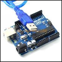 UNO R3 MEGA328P ATMEGA16U2 for Arduino Free Shipping+ USB Cable