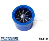 Turbo supercharger small size fan (OD:55MM) Performance Force Flow Turbine Fuel Saver SUPER SPIRAL TURBO VENTILATOR TK-T103