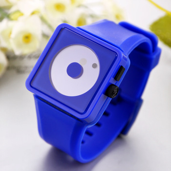 Fashion Sports Watch Smile Dots hours Unisex LED Watches Silicone Strap digital Quartz Casual watches Cheap Free shipping