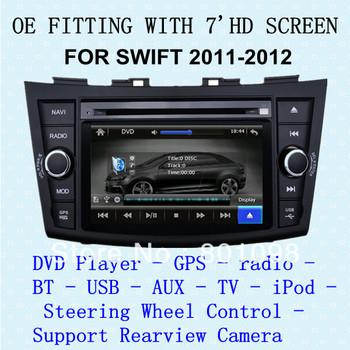 2 din intelligent car multimedia system for SWIFT 2011-2012