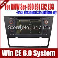 Car DVD Player GPS Navigation for BMW 3 Series E90 E91 E92 E93 w/ Radio Bluetooth TV Map USB AUX Audio Video Multimedia Sat Nav