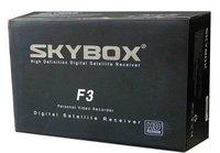 Lastest Original DVB-S2 Skybox F3 Decoder HD TV Dekoder Satellite Receiver with Full 1080P HD,Weather Forecast Video Recorder