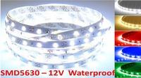 High quality waterproof 12v LED strip SMD5630 60 LEDs per meter
