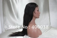 "Free Shipping Silk Top Full lace wigs 18""/20""/22"" Indian remy hiar natural color natural straight Small cap Free Shipping"
