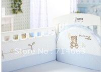 100% Cotton Baby Bedding Set Unpick and No-Wash 4 pc / Set
