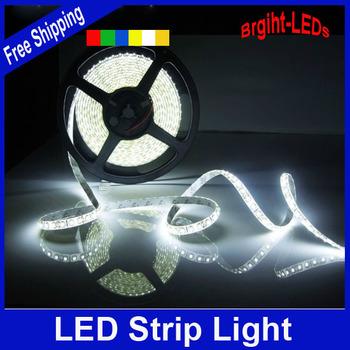 Promotion Waterproof LED Strip SMD3528 LED 5M 60leds/m DC12V Flexible Strip Light saving lighting string high quality