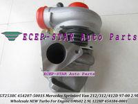 NEW GT2538C 454207-5001S 454184-0001 Turbo For Mercedes Benz Sprinter I Van 212D/312D/412D 1997-00 2.9L OM602 122HP Turbocharger
