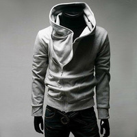 FREE SHIPPING High Collar Men's Jacket Top Brand Men's Dust Coat Hoodies Clothes #1554