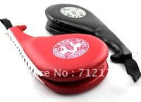 NEW Training Karate Tae Kwon Do Kenpo Bag Taekwondo martial arts foot target  Kick Pad Red*BLACK