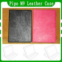 Original & Special 10.1 Inch Pipo M9 Case  Leather Case For Pipo M9 Black Rose In Stock