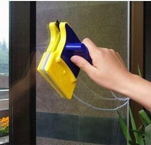 In stock Magnetic Window Cleaner Double Side Glass Wiper Cleaner Surface Useful Brush New