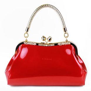 2014 fashion women messenger bag leather handbags famous brands grid tote bolsas high quality purse vintage clutch wristlet