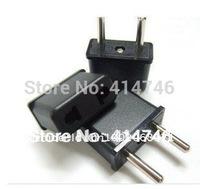 200pcs/lot New US/AU To EU AC Power Plug Adapter High quality EU Plug,Universal US to EU AC Power Plug Travel Converter plug