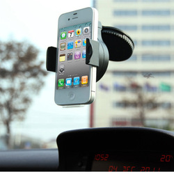 Universal 360 Degree Car Mount Holder Windshield Cradle Stand For All Cell Phone iPhone 4S 5 MP4 PDA 4.3&#39;&#39; GPS(China (Mainland))