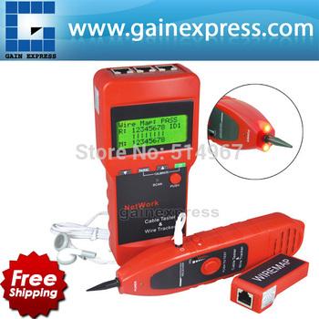 Multipurpose Digital Network LAN Cable Wire Length Line Tester 5E 6E coaxial RJ45 USB Coax BNC open & short circuit jumper wire
