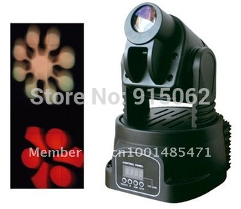 15W LED Mini Moving Head Club DJ Stage Lighting